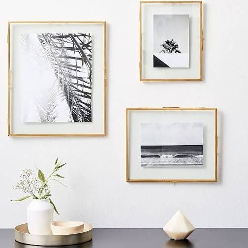 Terrace Floating Frame 8 25 X10 25 Gallery Wall Frames Wood Gallery Frames Gallery Frames
