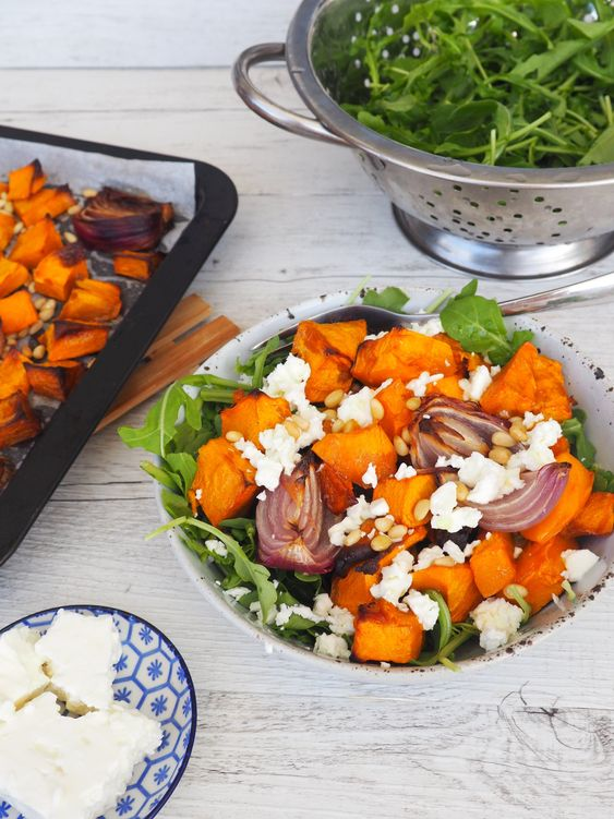 Classic Pumpkin + Feta Salad Recipe