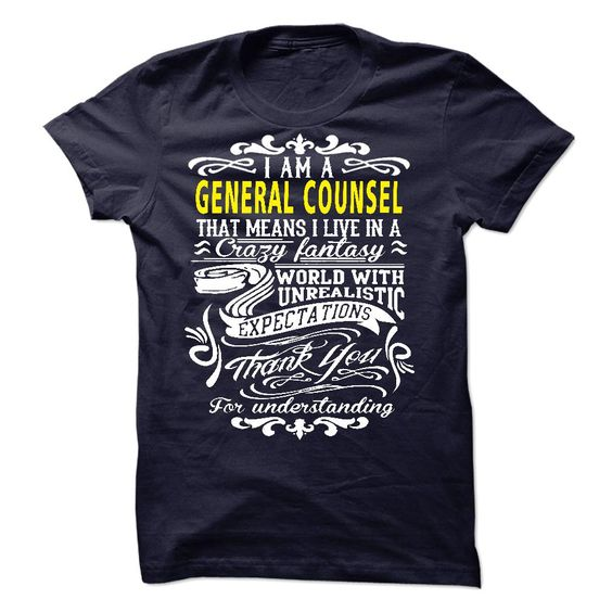 I am ᓂ a General CounselIf you are a General Counsel. This shirt is a MUST HAVEI am a General Counsel