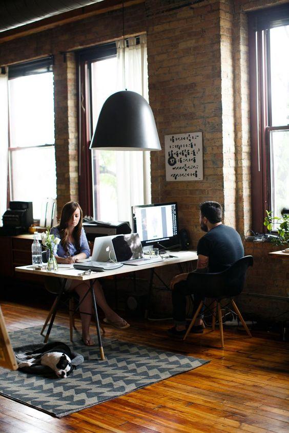Inspiratieboost: een home office voor twee - Roomed