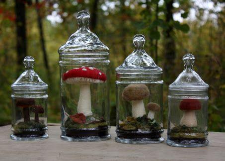 needle felted mushroom - Pesquisa Google