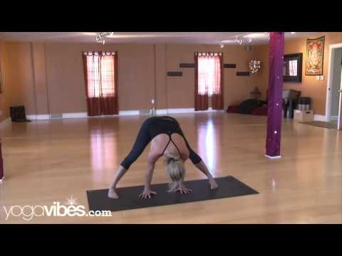 How to do a tripod headstand in Ashtanga Yoga - YouTube