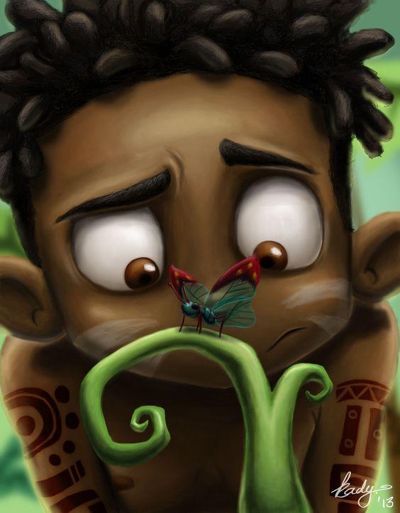'Curious' by Katlego Kgabale