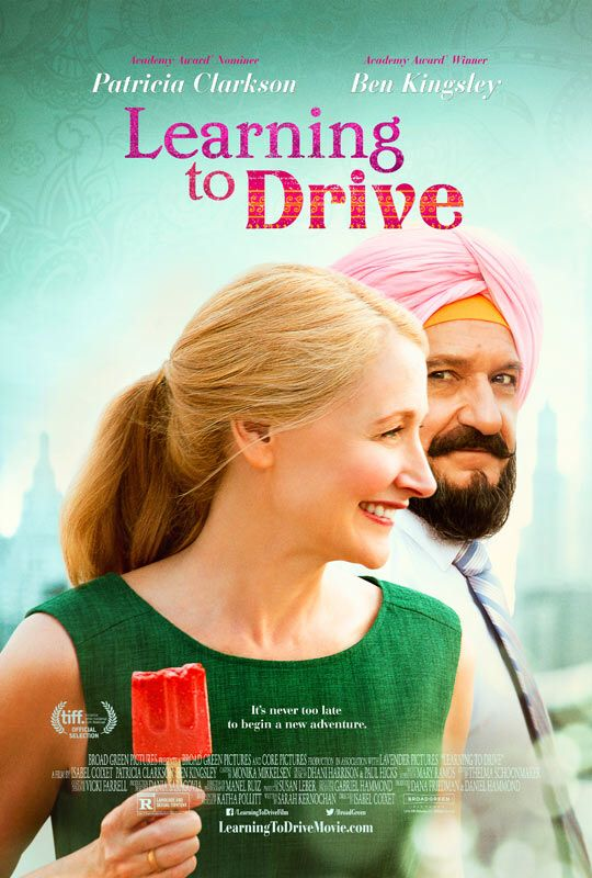 Learning to Drive - See the trailer   http://trailers.apple.com/trailers/independent/learningtodrive/