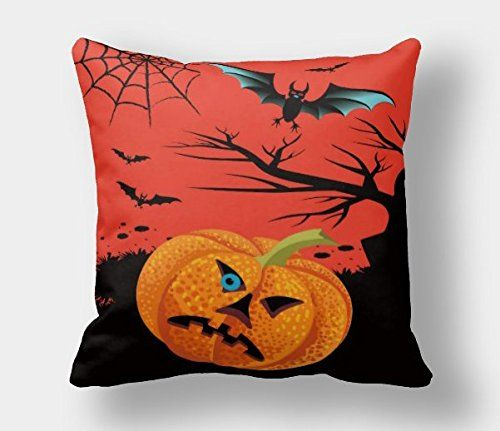 Halloween Pillow Case Pumpkin Pattern