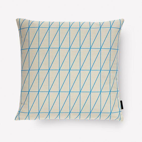 Bright Angle pillow / Maharam 17x17