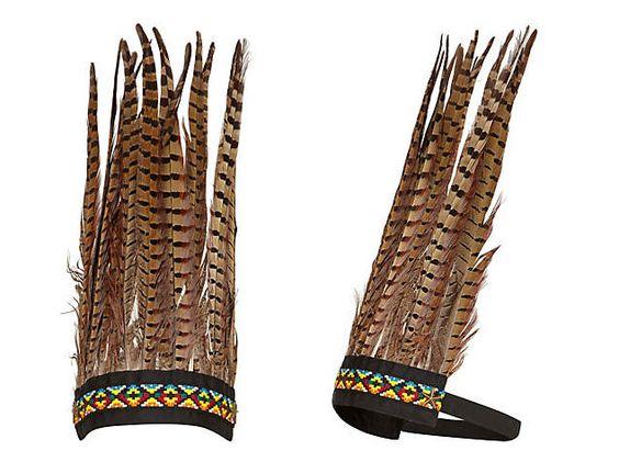 Aztec feather headdress