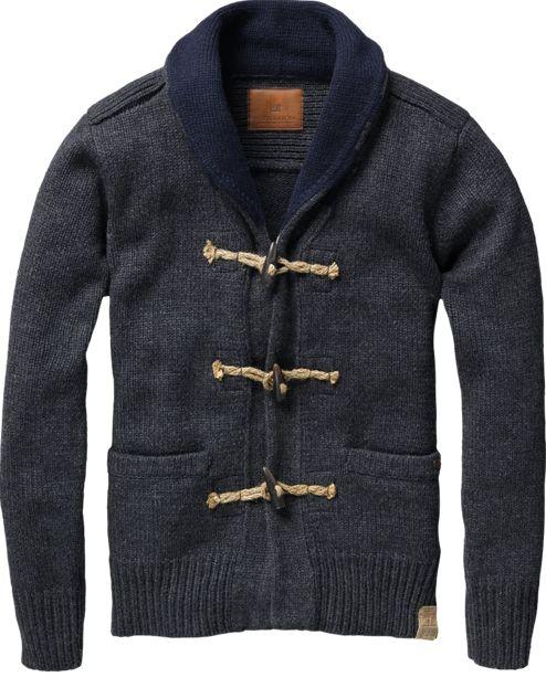 toggle sweater
