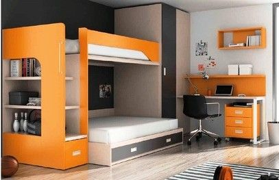 Camarotes infantil juvenil mr muebles modulares para for Cama oficina
