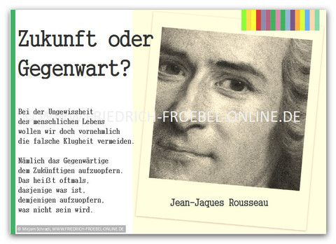 Rousseau Zitate Poster