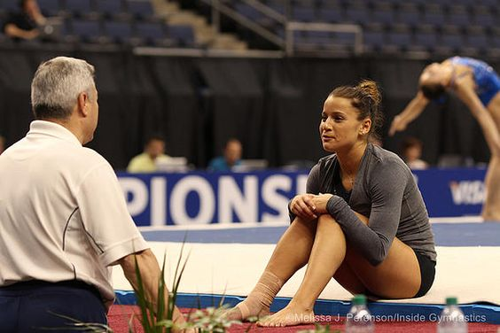 """Inside Gymnastics   Alicia Sacramone Quinn: """"The best parts of the competition always took place outside the arena"""""""