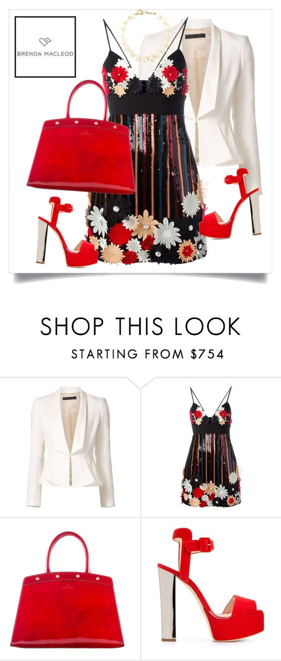 """""""beautifully spring"""" by brendamacleod ❤ liked on Polyvore featuring Elie Saab, Emanuel Ungaro, Giuseppe Zanotti and Chanel"""