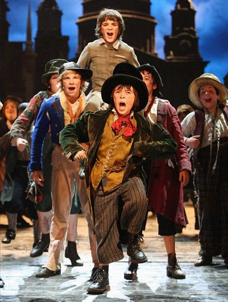 oliver the musical | Success: The cast of Oliver! - the musical written by Lionel Bart