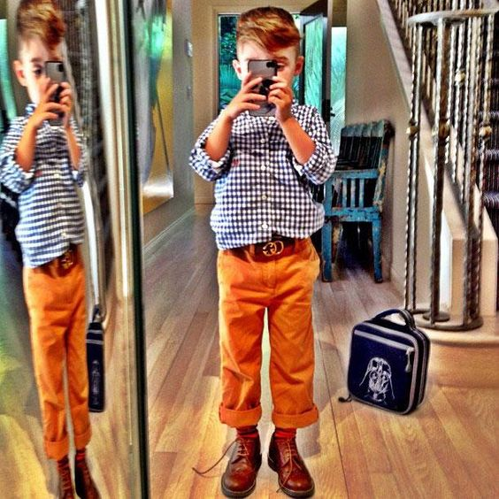 The 5-Year-Old Boy Who's Become an Instagram Style Icon - The Cut
