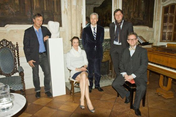 Blonay Fuchs (Skulptur), Maja Fluri (Sopran), Stefan Kölsch (Violine),  Matthias Schatz (Texte), Martin Uhmann (Klavier)