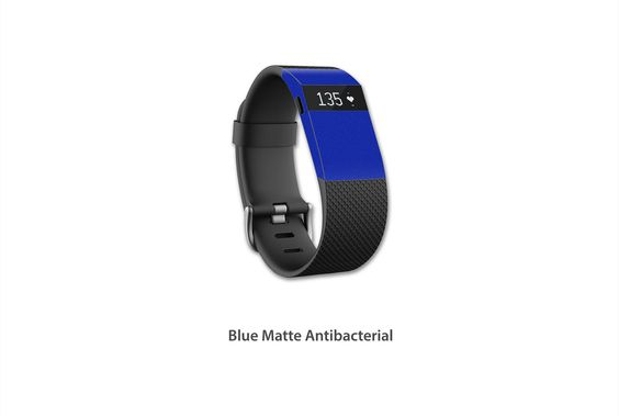 https://flic.kr/p/zS3Qux | Blue Matte Antibacterial | Fitbit Charge, Charge HR skin kit series - Antibacterial Matte Now available for purchase!!  Click on the link below to make your purchase: www.stickerboy.net/pages/fitbit-charge-charge-hr-skin-series