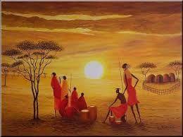 """Résultat de recherche d'images pour """"fresque africaine"""""""