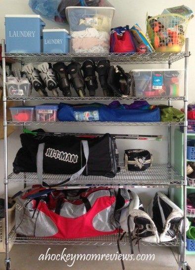 How To Make Hockey Equipment Drying Tree   Google Search   Storage    Pinterest