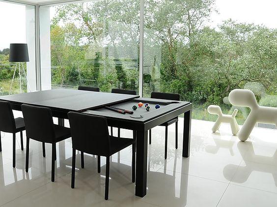 Classo - Fusion Tables - eettafel + pooltafel :: Design merken - meubelen - tapijten - tuinmeubelen - verlichting - accessoires - objecten