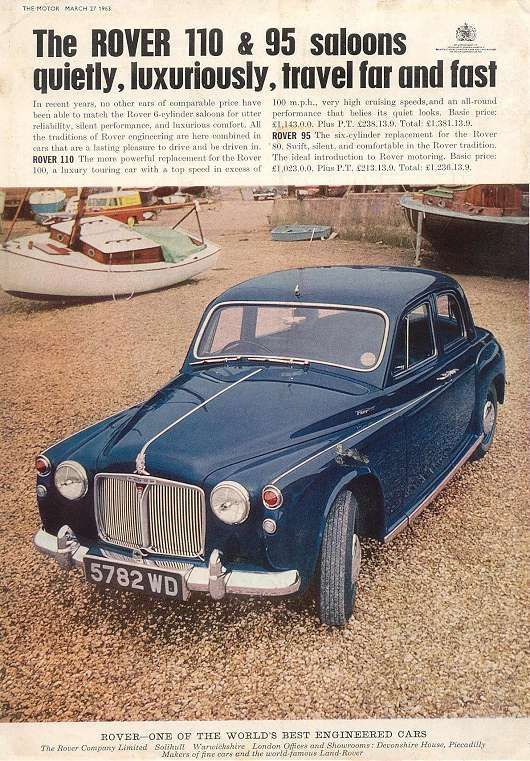 Rover adverts - British car brochures ( www.car-brochures.eu )