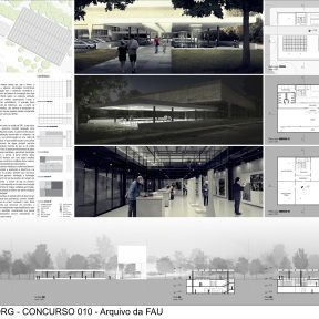 #010 Arquivo da FAU - Terceiro Lugar - Prancha 1