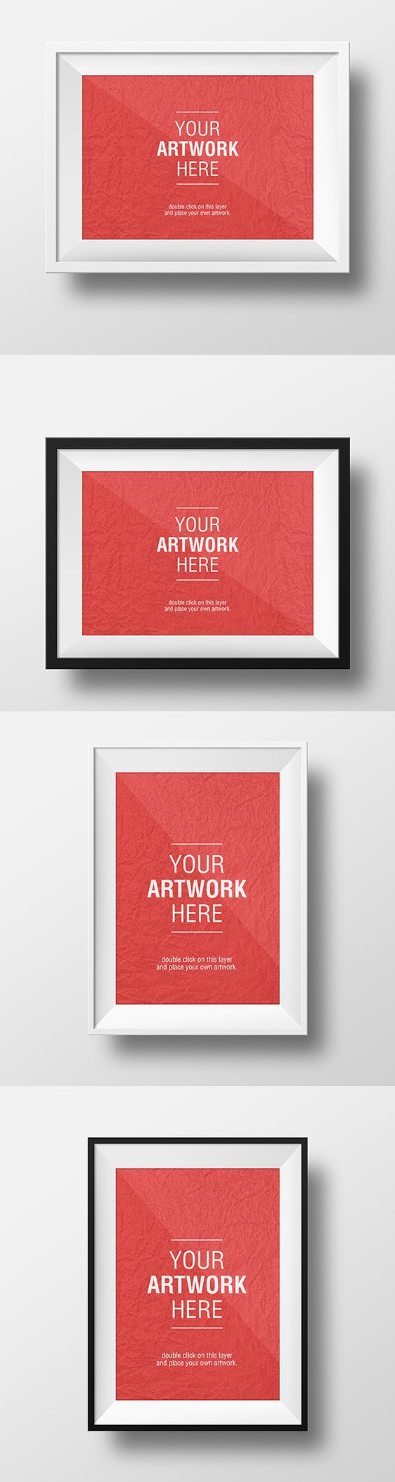 Poster design mockup - Free 3 Realistic Poster Gallery Mockup Poster Mockup Psd Pinterest Mockup