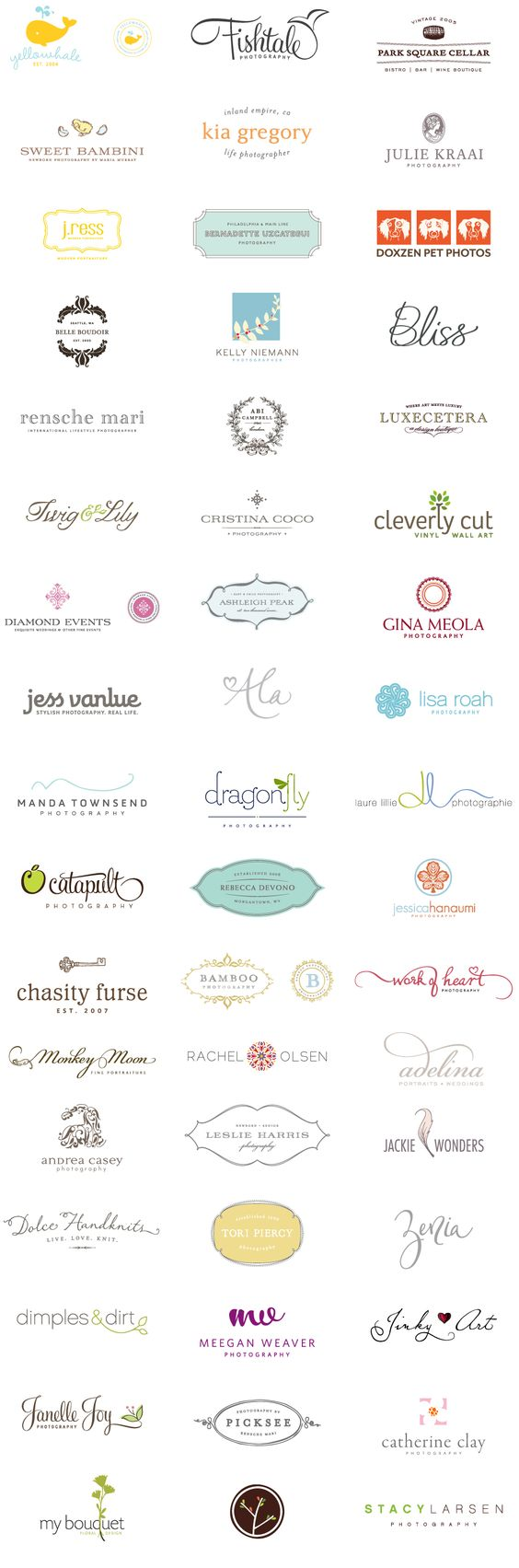 Great logo portfolio: