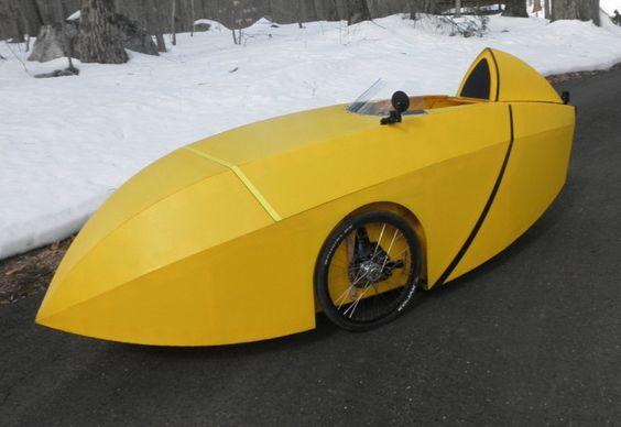 SpearHead Velo - najcenejši velomobil, ki si ga lahko izdelate sami tako da oblečete tricikel ICE s Coroplast ploščami.