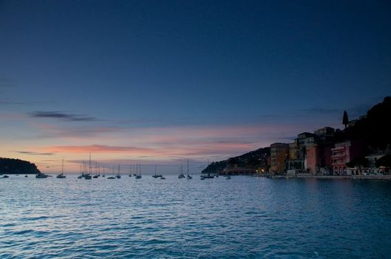 Villefranche at dawn