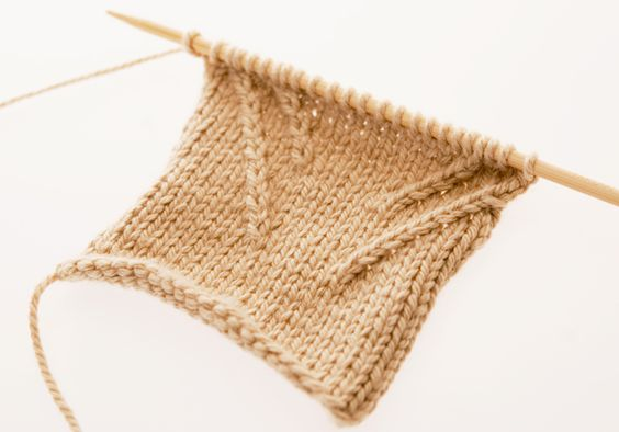 knitting right and left twist tutorial