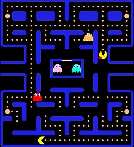 1980s video games | PacMan video game (and an electric shock) gives scientists insight ...