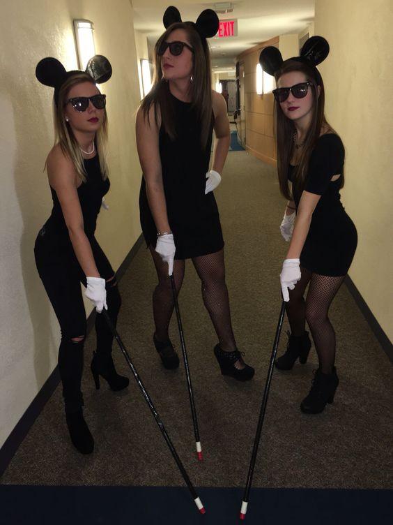 Three blind mice Halloween costume