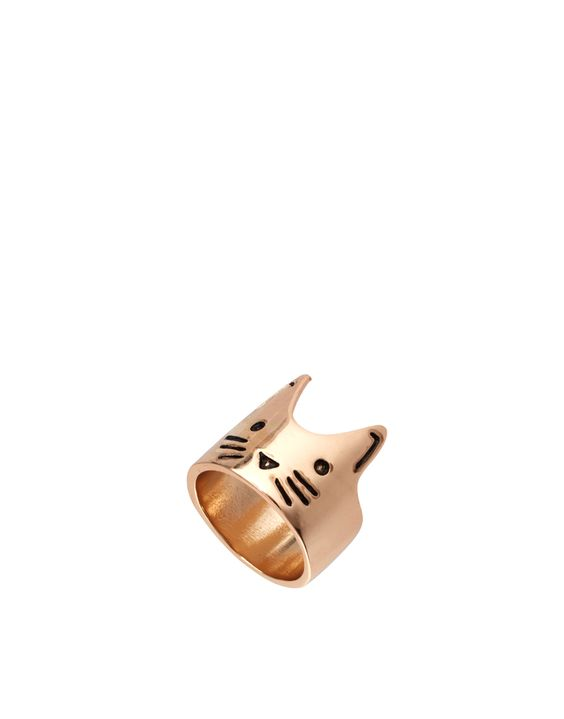 ASOS Cat Face Ring