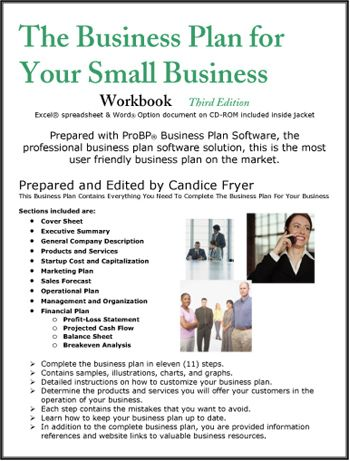 The Business Plan for Your Small Business Business Start Up - plan sales