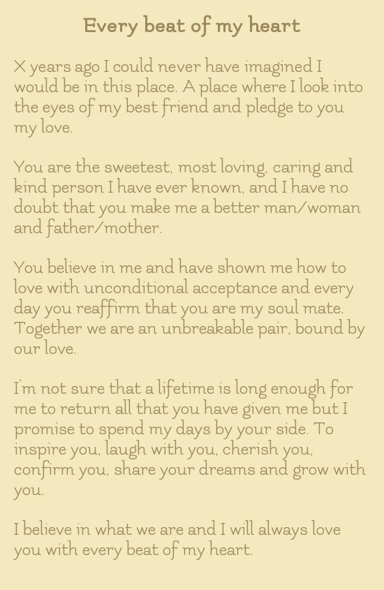 15 Romantic Non Traditional Wedding Vows For Your Ceremony Wedding Vows To Husband And Wi In 2020 Traditional Wedding Vows Wedding Vows Quotes Wedding Vows To Husband