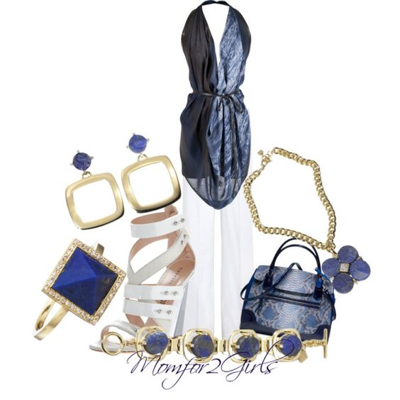 """Midnight Blue"" by momfor2girls on Polyvore"