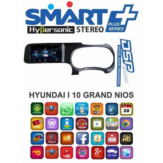 Hyundai Grand I10 Nios Smart Plus 9 Inch Hd Touch Screen Android