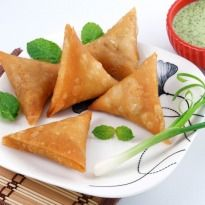 The classic Indian snack with a twist. #Mushrooms replace the good old potato filling in this version of the #samosa.