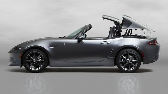Mazda MX-5 RF Retractable Fastback #miata #mazda