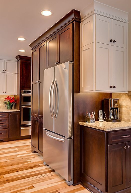 Small Kitchen Design With Cherry Wood Cabinets Kitchen Cabinets Color Combination Cherry Wood Kitchen Cabinets Brown Kitchen Cabinets