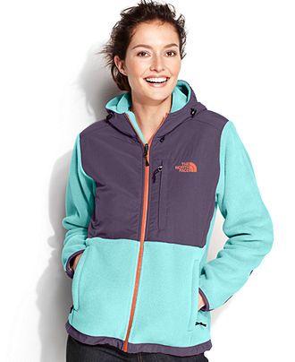 The North Face Jacket Hooded Denali Fleece - Hoodies - Women