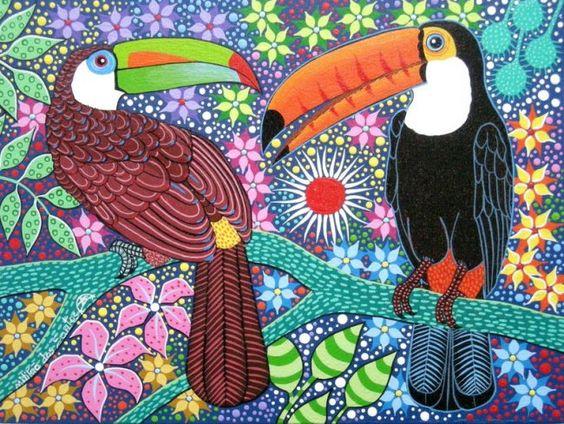 Obras de arte tropical and santos on pinterest for Pinterest obras de arte
