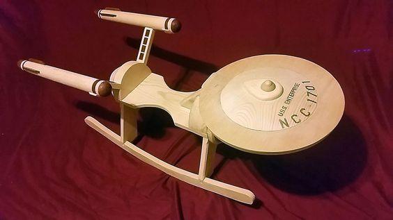 Star Trek Enterprise Baby Rocker