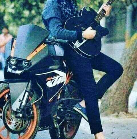 Handsome Boy Dp With Guitar Senior Boy Photography Stylish Boys Cool Hairstyles For Boys
