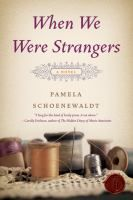 Book Jacket for: When we were strangers