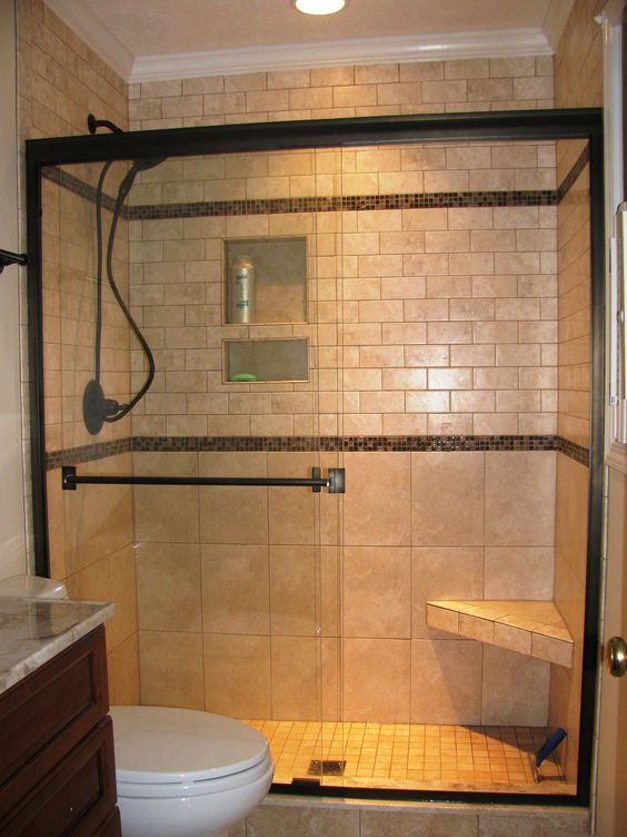Pictures Of Small Bathroom Remodels with simple shower stalls with ...