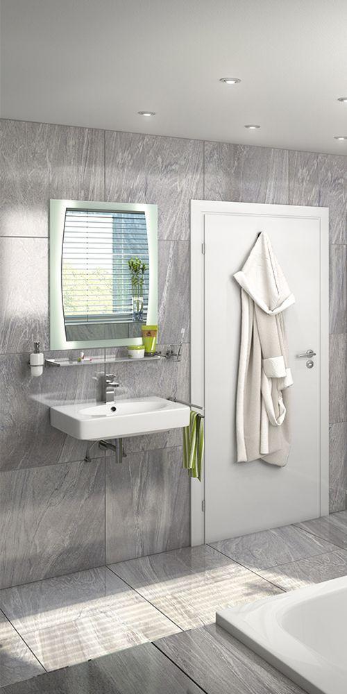 Ein Graues Bad Ist Langweilig Also Dieses Hier Ganz Bestimmt Nicht Das Traumbad Singapur Ist Ausgestattet Mit Grossen Grauen Badezimmer Planen Bad Glasduschen