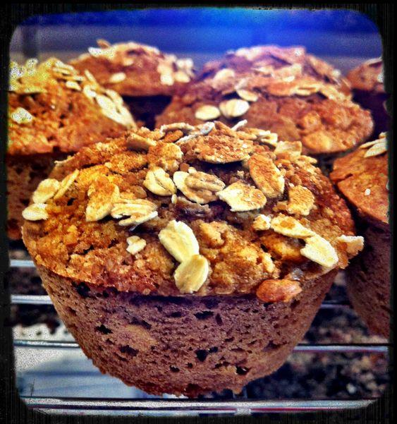Cinnamon-Raisin Oatmeal Muffins - Powered by @ultimaterecipe