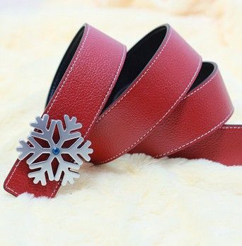 Free Shipping 2013 new snow buckle genuine leather belt, men belts, embossed leather belts, women belts, brand belts, wide belts