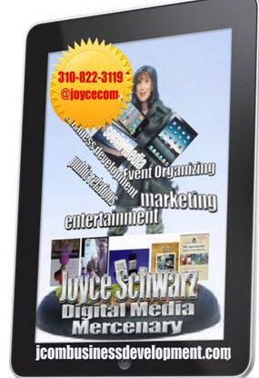 Freelance PR, marketing and biz dev. Monthlty retainer projects for startups, agency outsourcing work and freelance at your location or mine! Since 1986 -- 310-822-3119